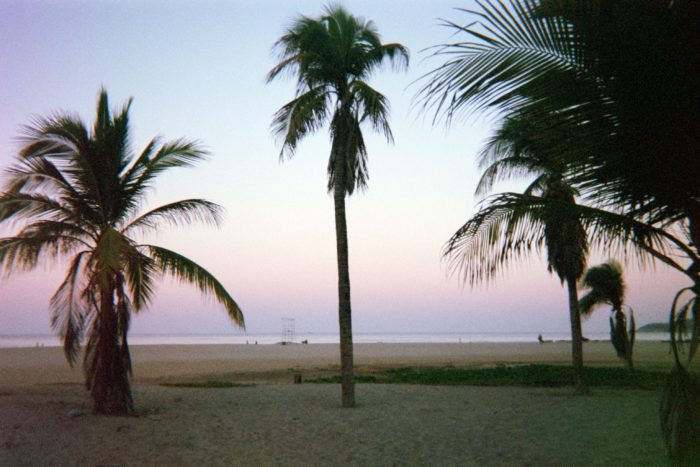 dawn sunrise surfer paradise zicatela beach mexico puerto escondido film photography