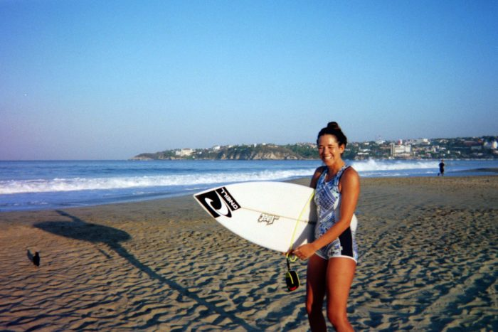 puerto escondido sister surfer sunrise mexico surf