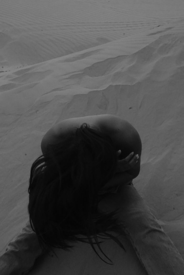 nicolefisser as muse in dunes photo journal blog reconstruction of our home heart open